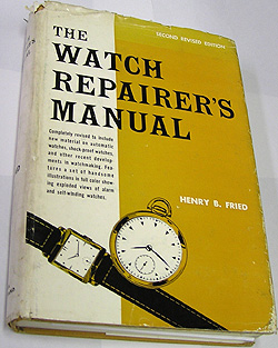 THE WATCH REPAIRER'S MANUAL